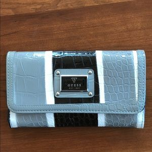 Guess - black and gray wallet